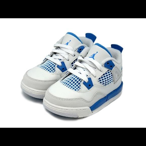 c88fab9675a Jordan Shoes | Nike Air 4 Retro Military Blue | Poshmark
